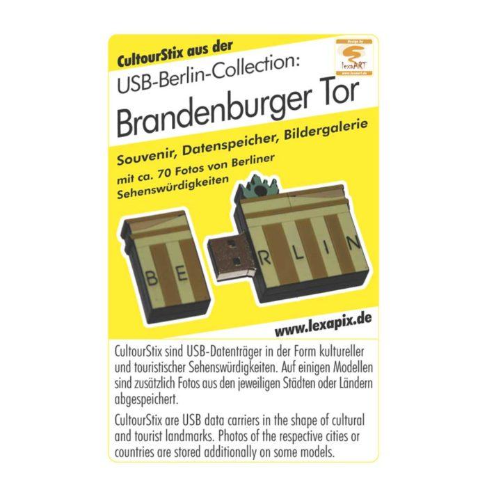 Berlin-Brandenburger-Tor-Deutschland-Souvenir-USB-Datentraeger-Schluesselanhaenger-Bildergalerien-cultourstix-lexapix