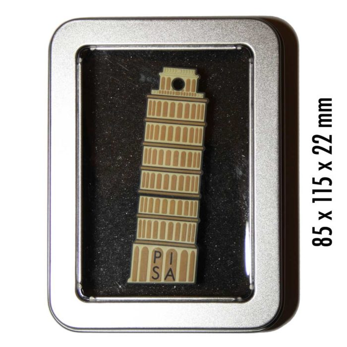Pisa-Italien-Souvenir-USB-Datentraeger-Schluesselanhaenger-cultourstix-lexapix