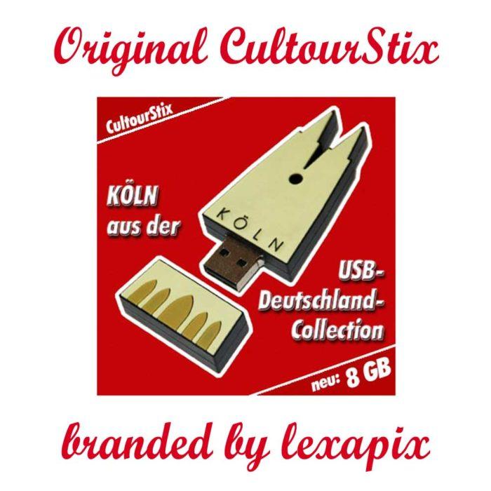 Köln-Deutschland-Souvenir-USB-Datentraeger-Schluesselanhaenger-Bildergalerien-cultourstix-lexapix