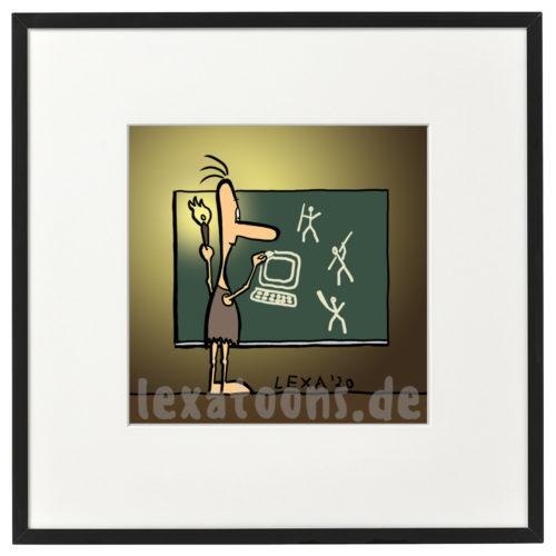 lexatoons-gerahmte-cartoons-hoehlenmalerei