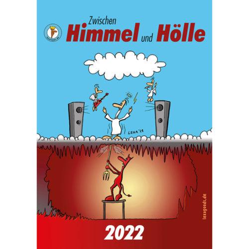 Kalender 2022, lexatoons, cartoons,